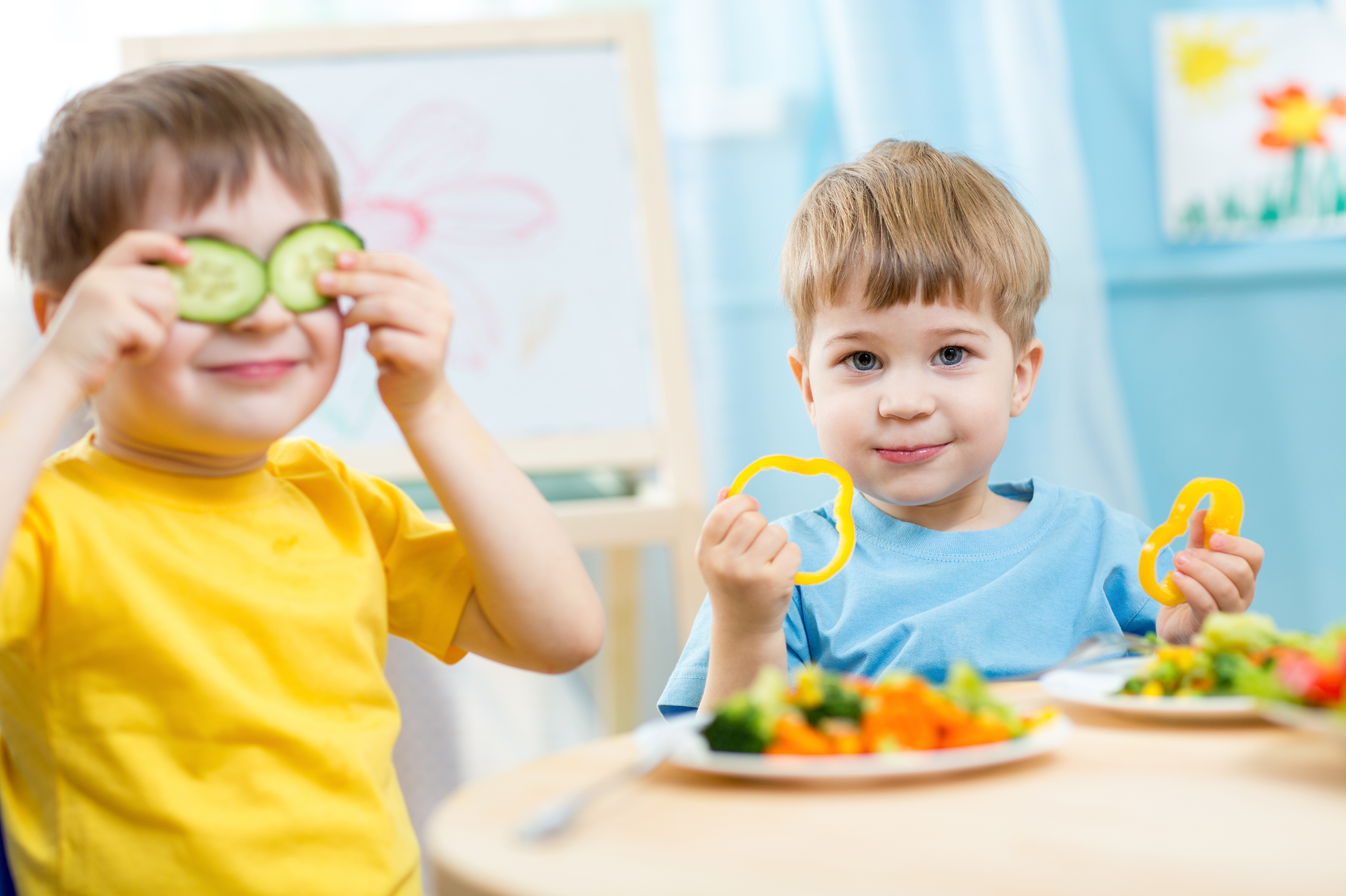 Get children interested in food and healthy eating